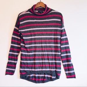 5/20$ DKNY Striped Cashmere Blend Sweater